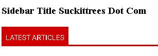 style-judul-sidebar-dengan-css