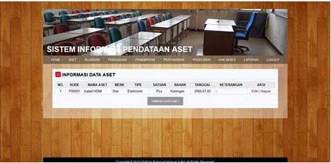 free-sistem-informasi-pendataan-aset-php-mysql