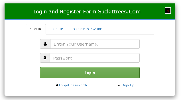 login-and-registration-form-with-bootstrap